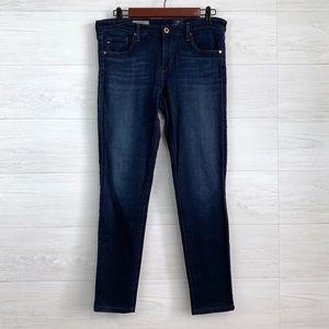 AG The Legging Super Skinny Dark Wash Jeans